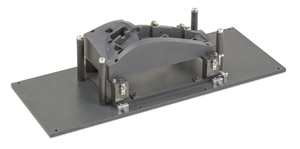 Lamp Contoured Hot Plate Holding Fixture