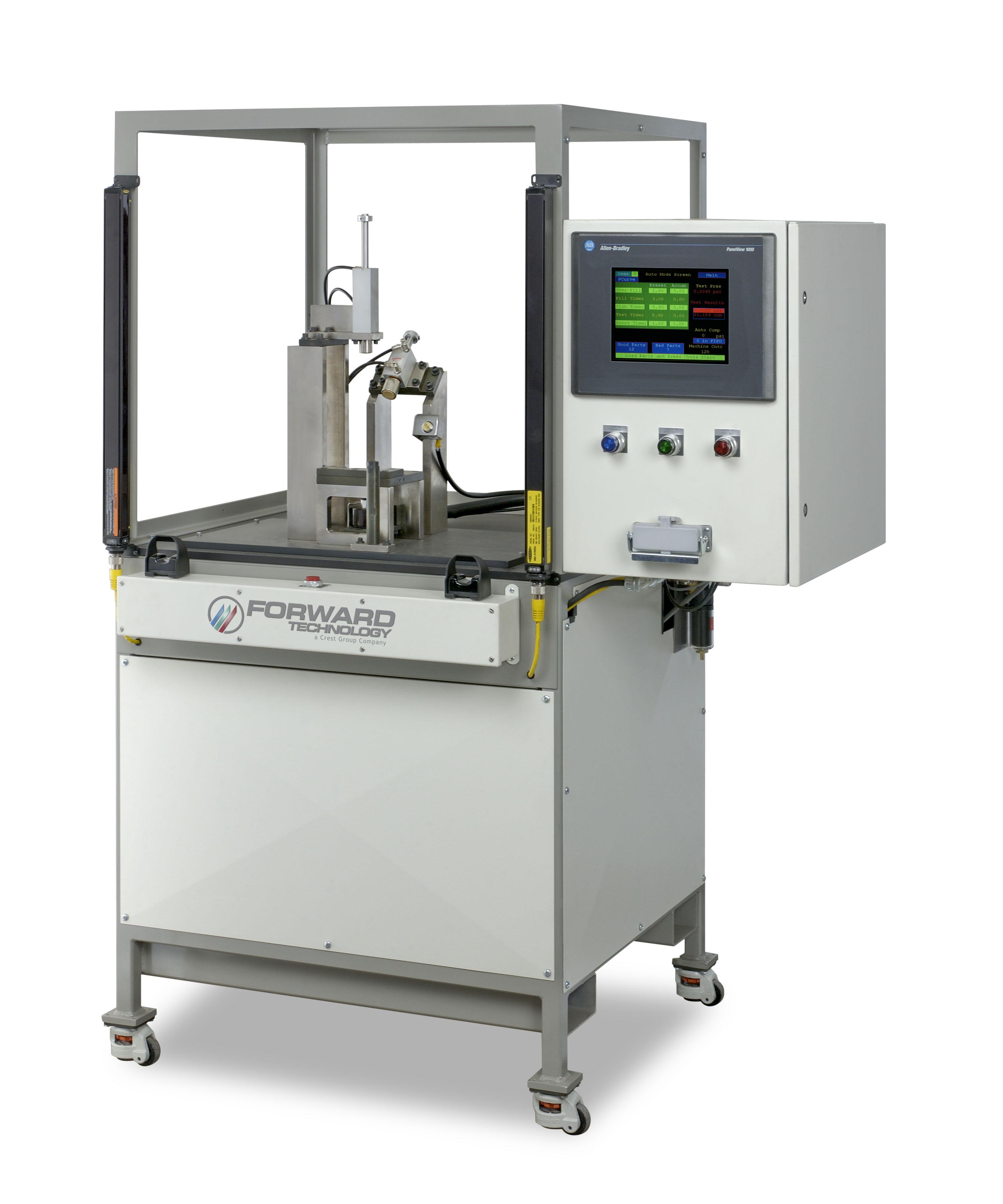 Forward Technology   Plastic Welders, Testing & Automation